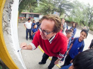 Teaching by example in Mexico.