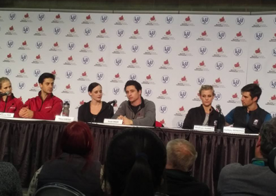 Ice Dance Press Conference