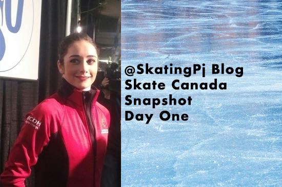 Skate Canada Snapshot – Day One